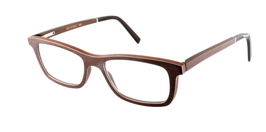 most popular eyeglass frames eioc  Gold & Wood